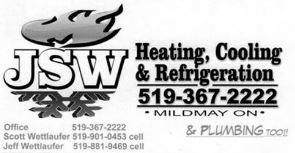 JSW Heating, Cooling & Refrigeration